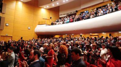 Над 500 съдии и служители уважиха отбелязването на 20-годишния юбилей на Апелативния съд в Пловдив.