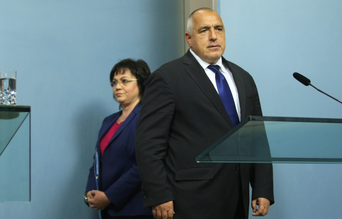 Бойко Борисов и Корнелия Нинова изкарали предизборната кампания възмутени един от друг
