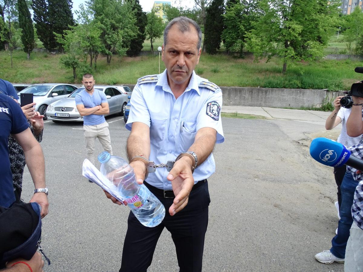 Шефът на КАТ-Благоевград е арестуван за корупция