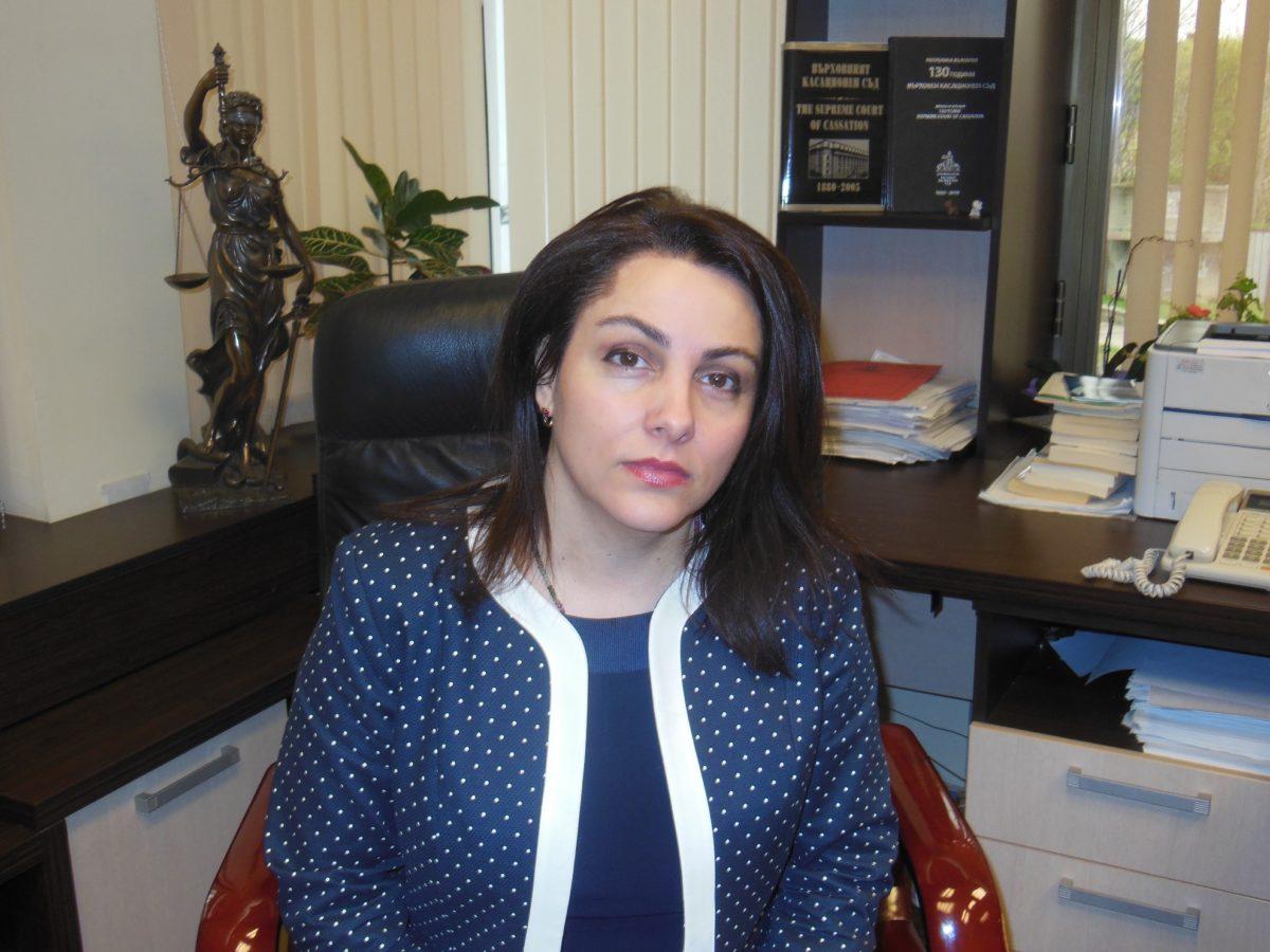 Деница Вълкова е на крачка да стане съдия във ВКС