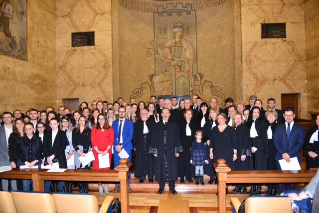 Нови 61 адвокати положиха тържествена клетва в Съдебната палата