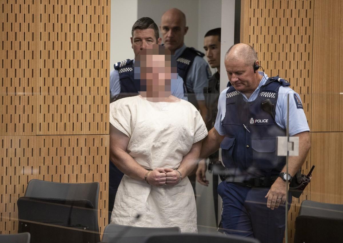 Терористът от Нова Зеландия не поиска да излиза от ареста