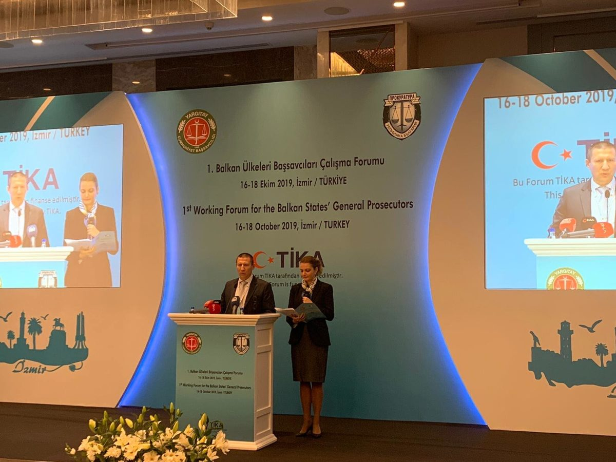 Главните прокурори от Балканите се събраха на работен форум в Турция