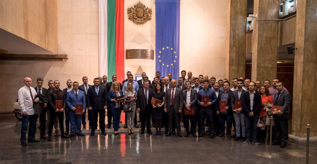 Цацаров награди прокурори и полицаи за работа по знакови дела