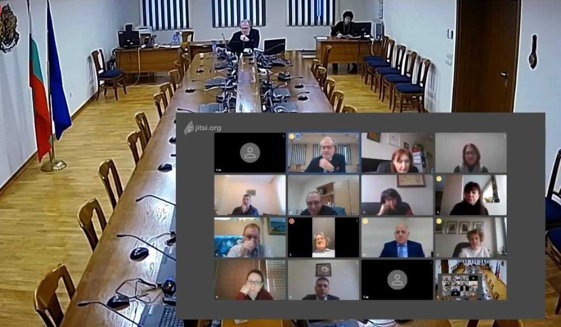 Съдийската колегия ще заседава видеоконферентно или с размяна на имейли