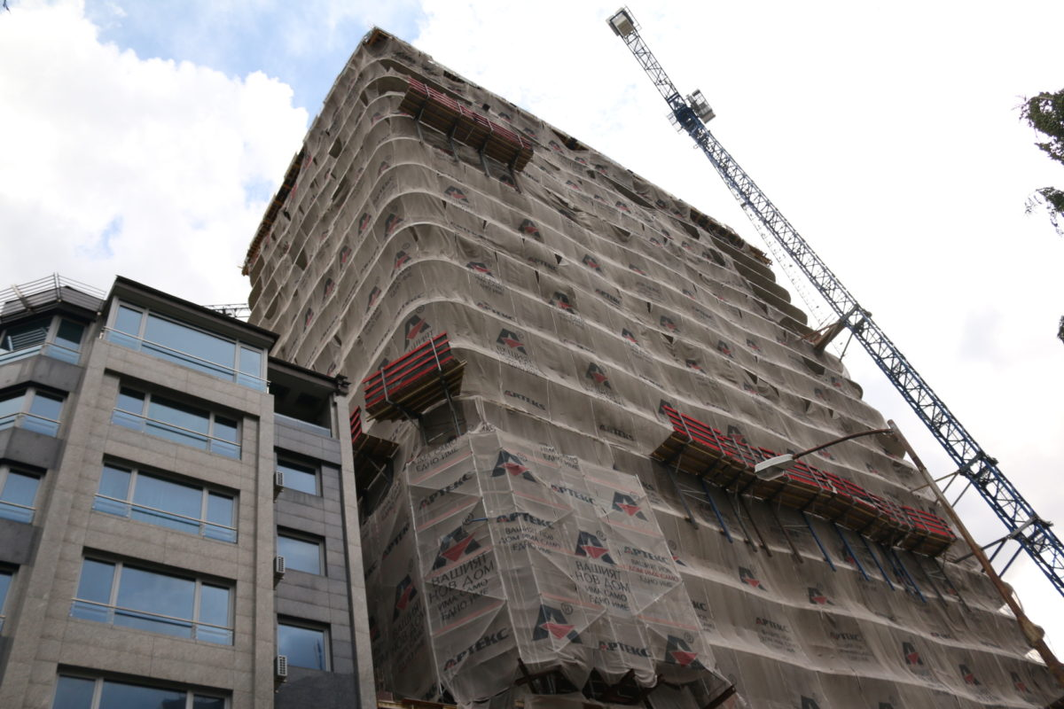 """Окончателно: Строителството на небостъргача """"Златен век"""" може да продължи"""