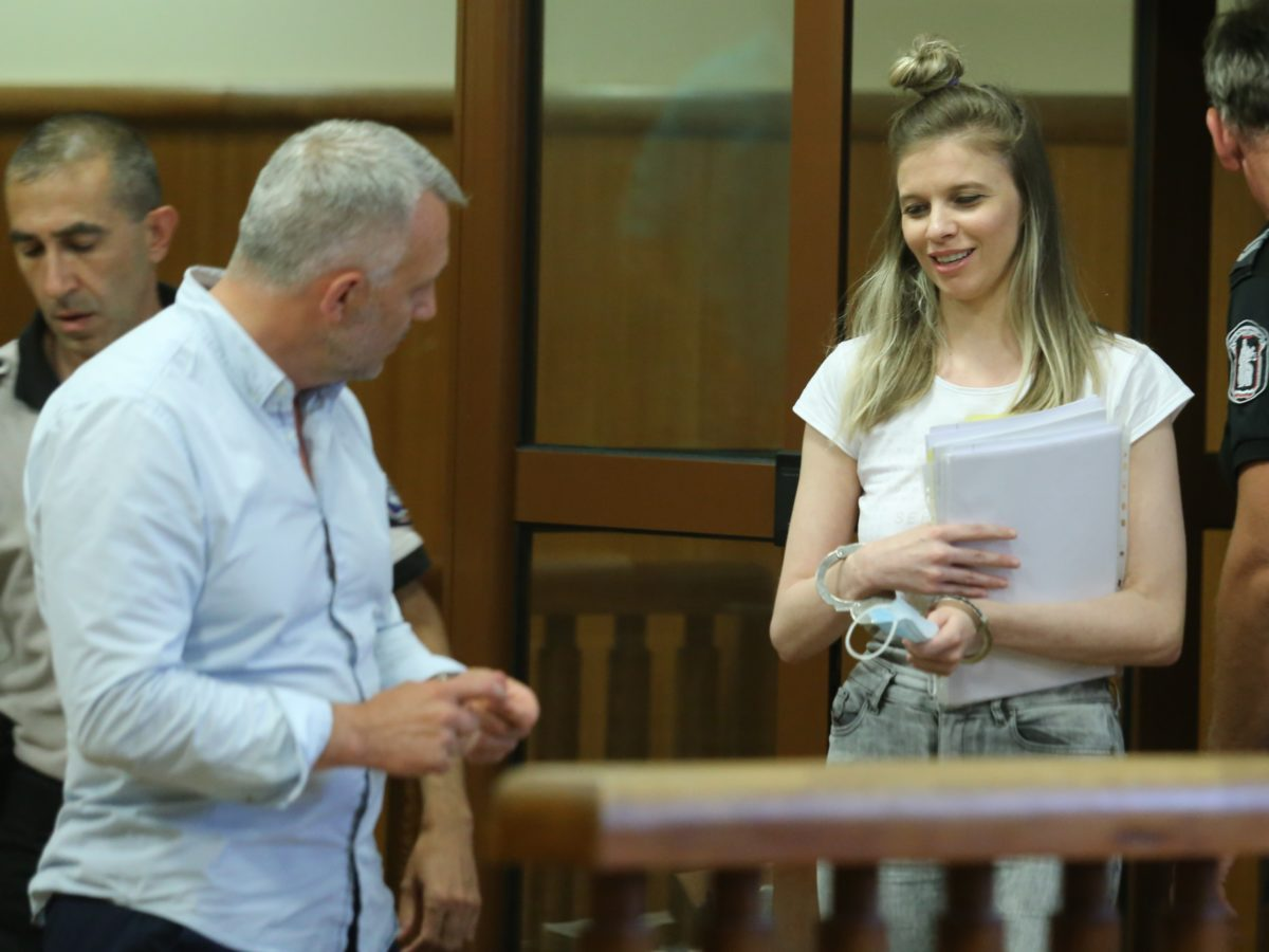 Лилана излиза от ареста
