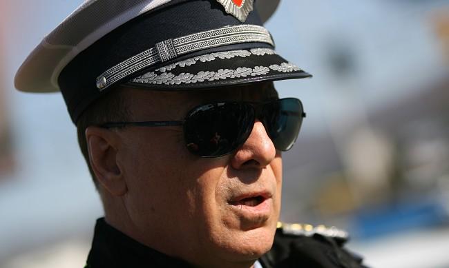 Арестуван е бившият шеф на столичния КАТ