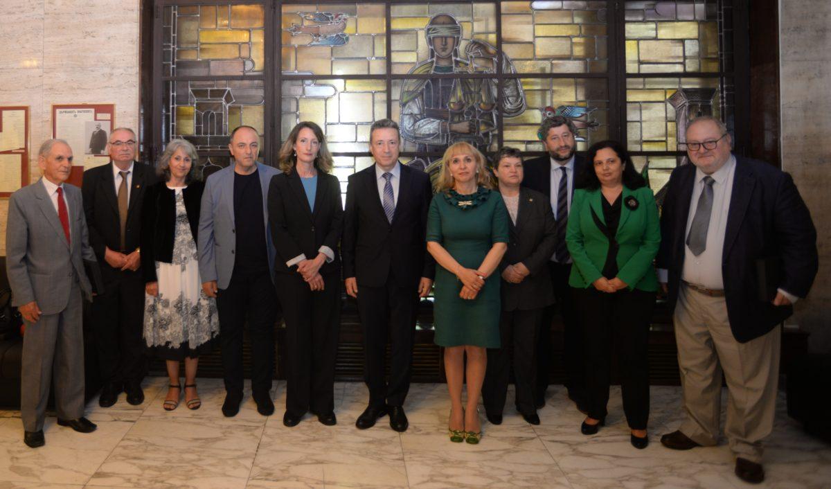 11 министри на правосъдието на едно място