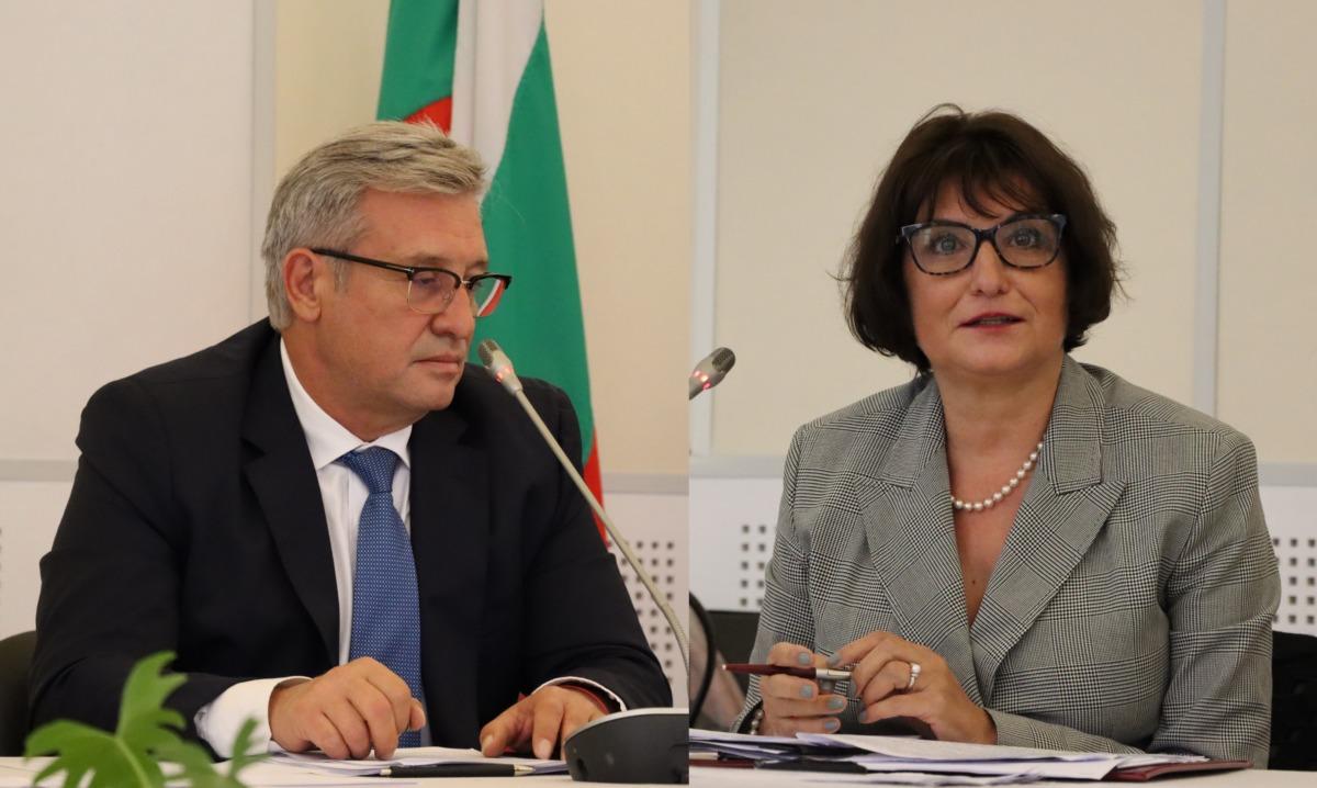 Марина Михайлова и Деян Денев искат трето гласуване за членове на ВСС без праг от 33 на сто